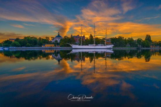 Sweden Sunrise Landscape Photography by Chrissy Donadi