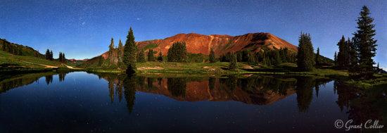 Mount Baldy at Night