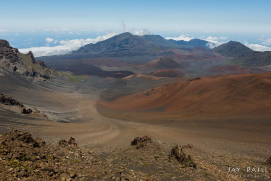 Example of Landscape Photo without Circular Polarizer, Haleakala National Park, Maui, Hawaii by Jay Patel