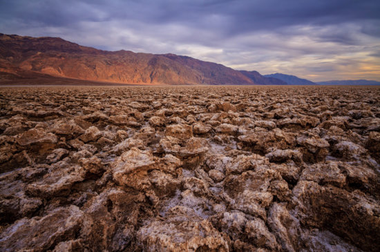 Devils Golf Course, Death Valley National Park, California by Anne McKinnell