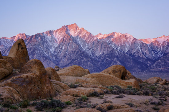 Alabama Hills, California by Anne McKinnell