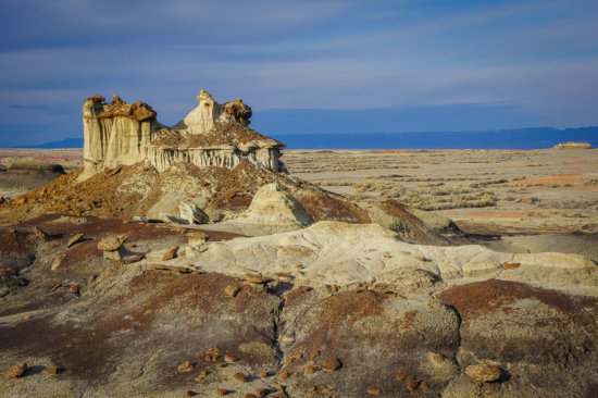 Bisti Badlands, New Mexico by Anne McKinnell