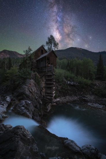 Night Photography using Photo Stacking from Colorado by Joshua Snow