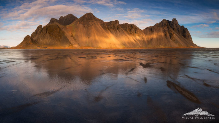 Vestrahorn, Iceland photo used in this Photoshop Tutorial