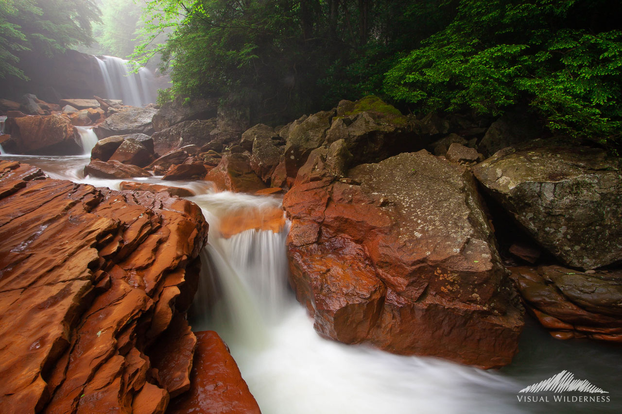 Case study for Lightroom for Waterfall Photography Tutorial