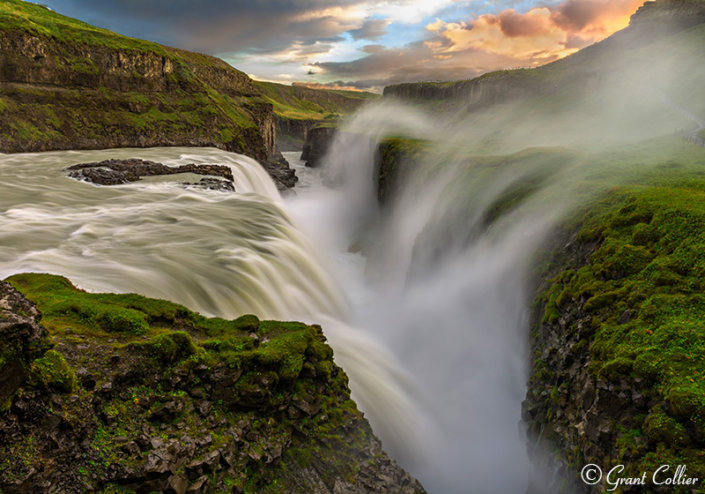 Nature Photography Example from Gulfoss Falls, Iceland