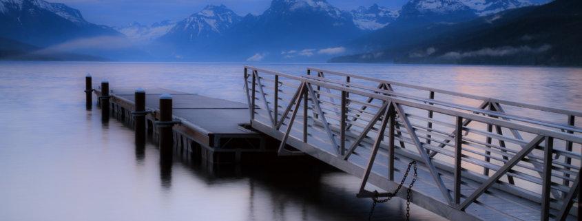 Lake McDonald, Glacier National Park, Montana by Anne McKinnell