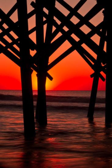 Folly Beach in Charleston, South Carolina by Anne McKinnell