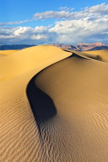 Mesquite Dunes, Death Valley, photographed with Sony A99II