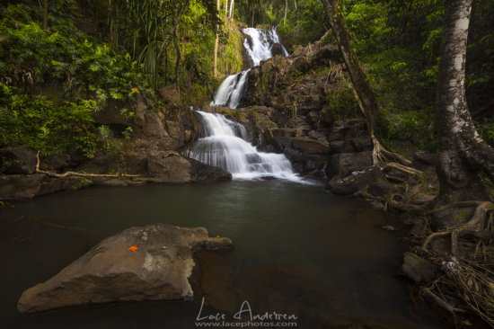 Landscape Photography example of a Waterfall