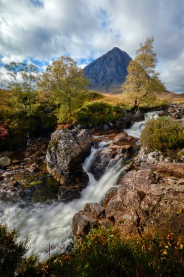 River Etive and Buachaille Etive Mor, Scotland