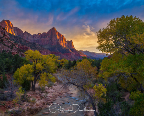 How to get colors in landscape photography right blog post by Patricia Davidson