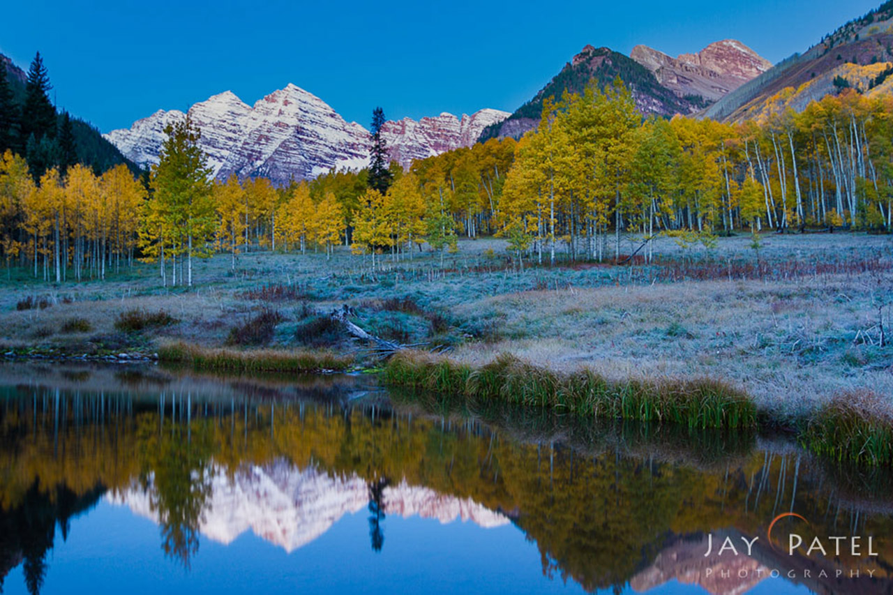 Landscape photography from Maroon Bells, Colorado