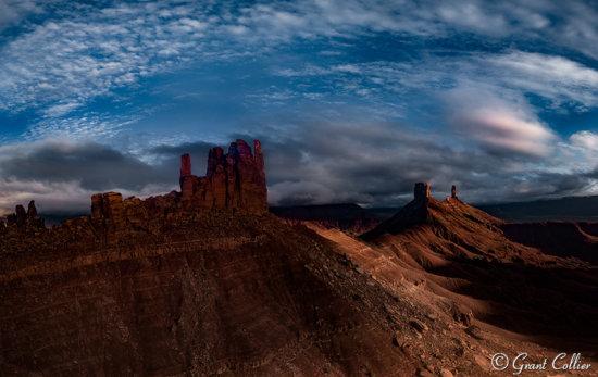 Castle Valley Sunset