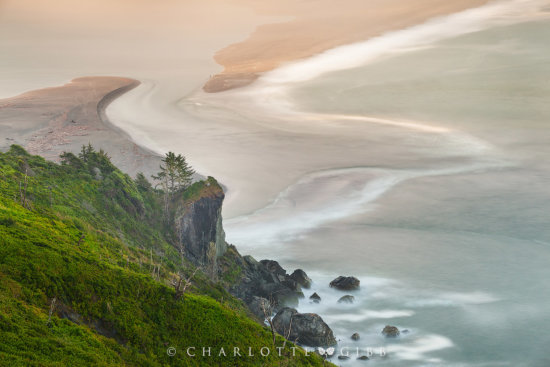 Intimate landscape photography example from Klamath, California