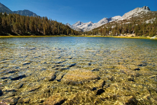 Landscape Photography from backpacking trip to Marsh Lake by Josh Cripps