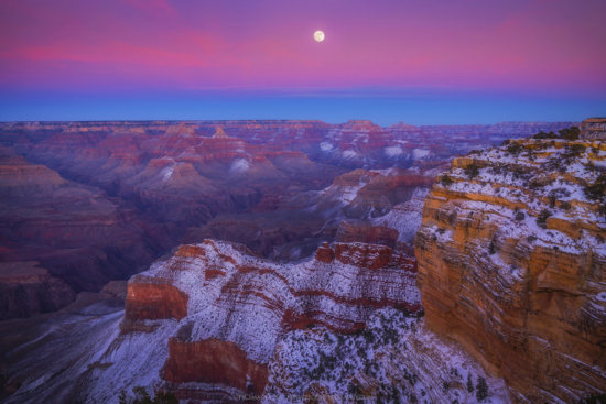 Winter Photography in Grand Canyon National Park, AZ