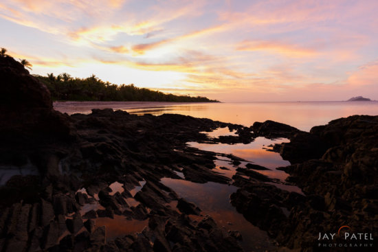 0 Fstop exposure bracketing for HDR Photography at Mana Island, Fiji