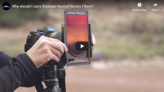 Cover for Graduated Neutral Density Filters Video by Jay Patel