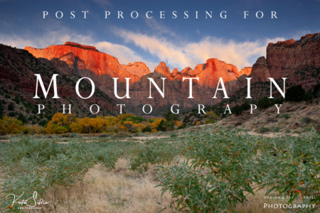 Lightroom Tutorial for Mountain Photos 2019-04 Cover