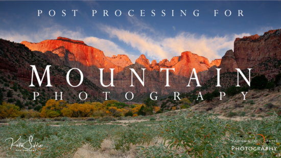 Mountains Lightroom Tutorial & eBook Bundle Cover