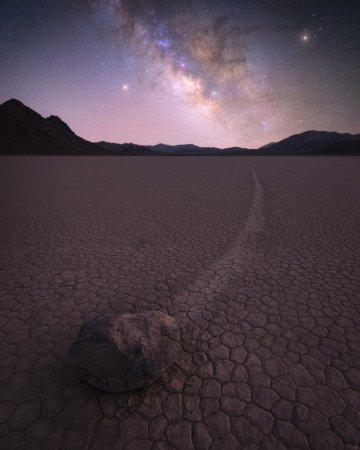 Milky Way photography on a clear spring night, Death Valley National Park, California by Joshua Snow