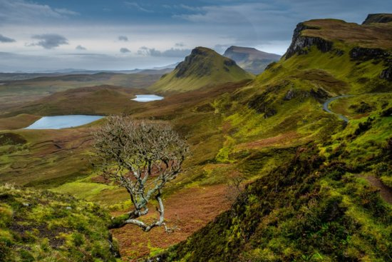 Landscape Photography from The Quiraing, Isle of Skye, Scotland by Ugo Cei