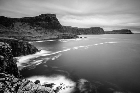 B/W Landscape Photography near Neist Point, Isle of Skye, Scotland by Ugo Cei