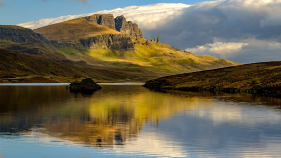 Landscape photography from Loch Fada and the Storr, Isle of Skye, Scotland by Ugo Cei