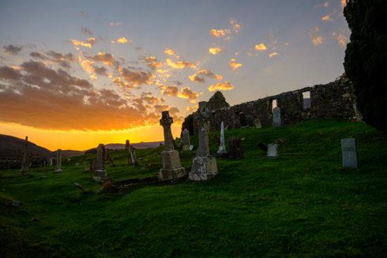 Church of Cill Chriosd (Kilchrist), Isle of Skye, Scotland