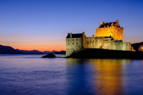 Travel Photography from Eilean Donan Castle, Scotland by Ugo Cei