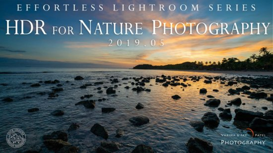 HDR for Nature Photography Lightroom Tutorial Cover