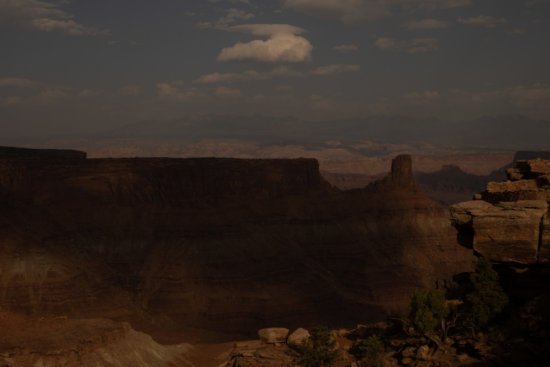Under exposed landscape photo from Dead Horse Point by Jane Palmer