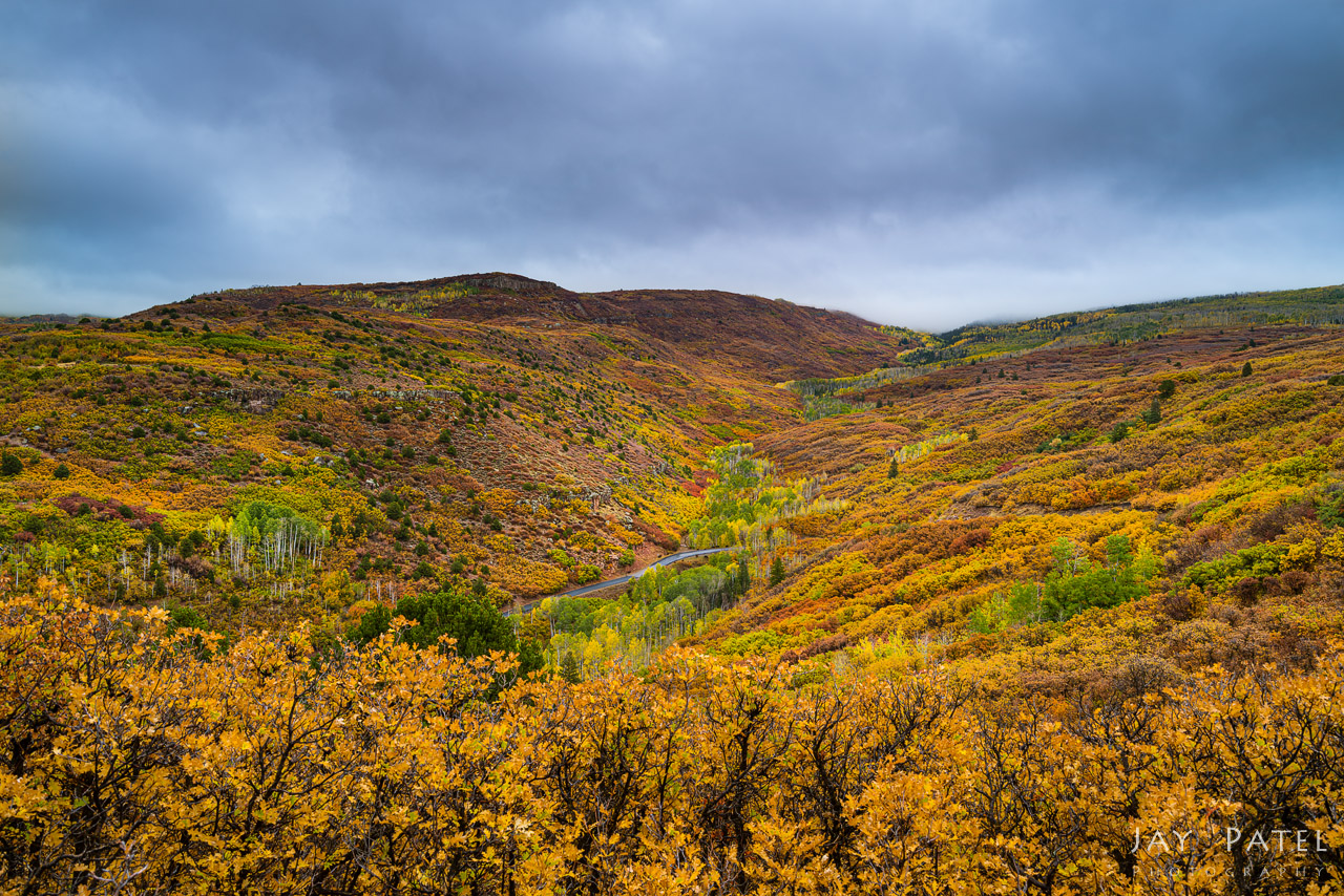La Sal Mountains photographed with a 3-Stop Soft GND Photography Filter