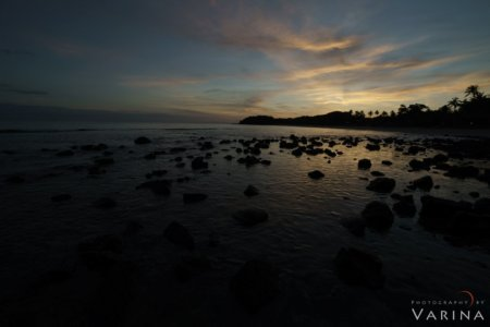 -2 F-Stop Bracketed Exposure for HDR for Nature Photography Workflow, Mana Island, Fiji