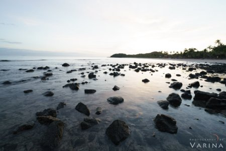 +2 F-Stop Bracketed Exposure for HDR for Nature Photography Workflow, Mana Island, Fiji