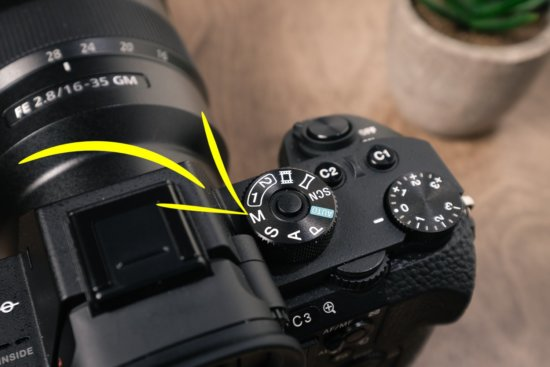 Typical shooting modes and how to set your camera to manual camera mode
