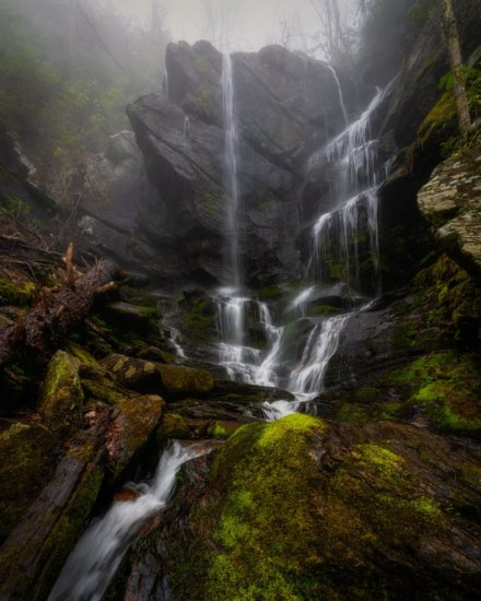 Waterfall photography by Mark Denney