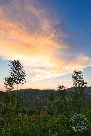 Landscape photography during Sunrise by David Johnston