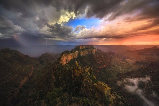 Landscape Photography in Dramatic Monsoon Light by Mark Metternich