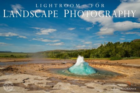 Lightroom for Landscape Photography Tutorial Cover