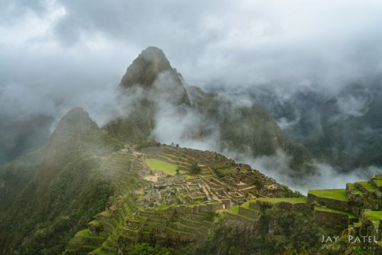 Travel photography with handheld mirrorless camera at the iconic Machu Picchu, Peru by Jay Patel