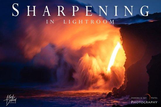 Sharpening in Lightroom Tutorial Cover