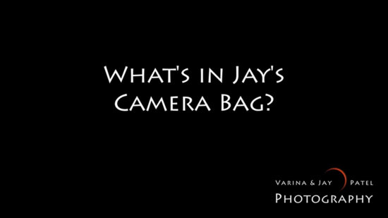 What's in Jay's Camera Bag Video Cover
