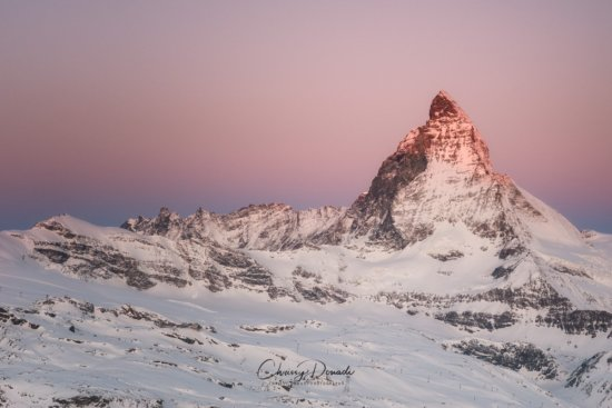 Landscape Photography of Switzerland Winter by Chrissy Donadi