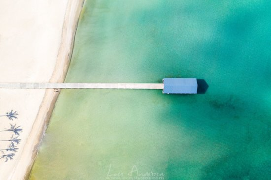 Aerial Landscape Photography on a Beach by Lace Andersen