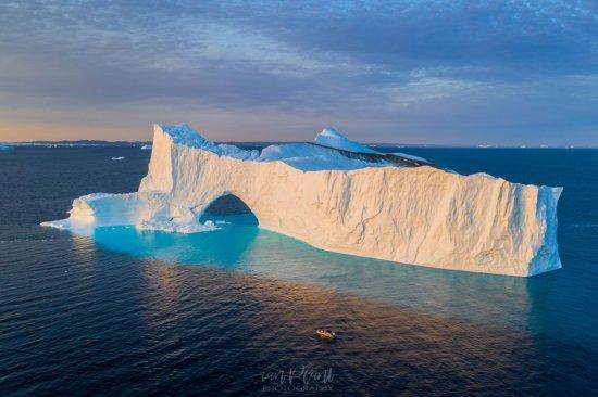 Travel photography with a DJI Mavic 2 Pro drone - Disko Bay, Greenland by Ian Plant