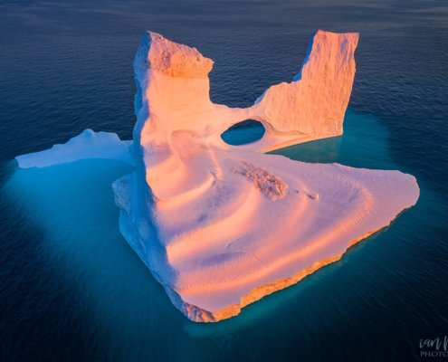 Cover for Travel Photography blog article about iceberg photography in Greenland by Ian Plant