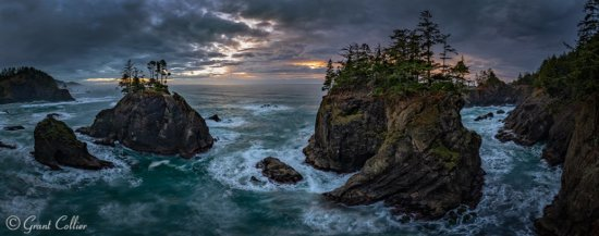 Panoramic Landscape Photography by Grant Collier