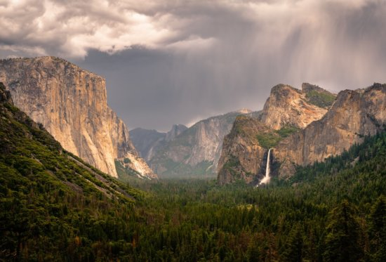Nature Photo Sharpened with Post-Processing from Yosemite National Park, California by Mark Denney